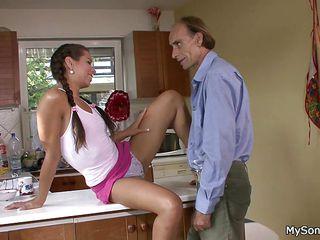 пожилые семейные пары порно смотреть