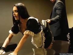 Порно самые худые проститутки