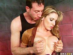 Порно минет в униформе
