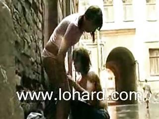 Порно женщины на улице за деньги